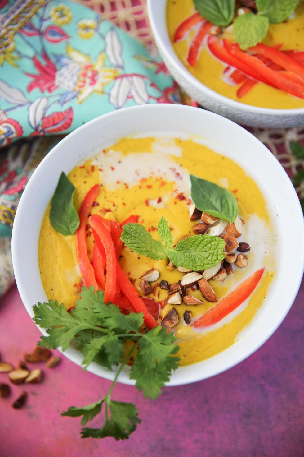Thai Curry Pumpkin Soup