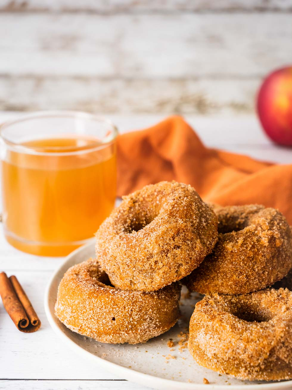 The Best Healthy Apple Cider Donuts