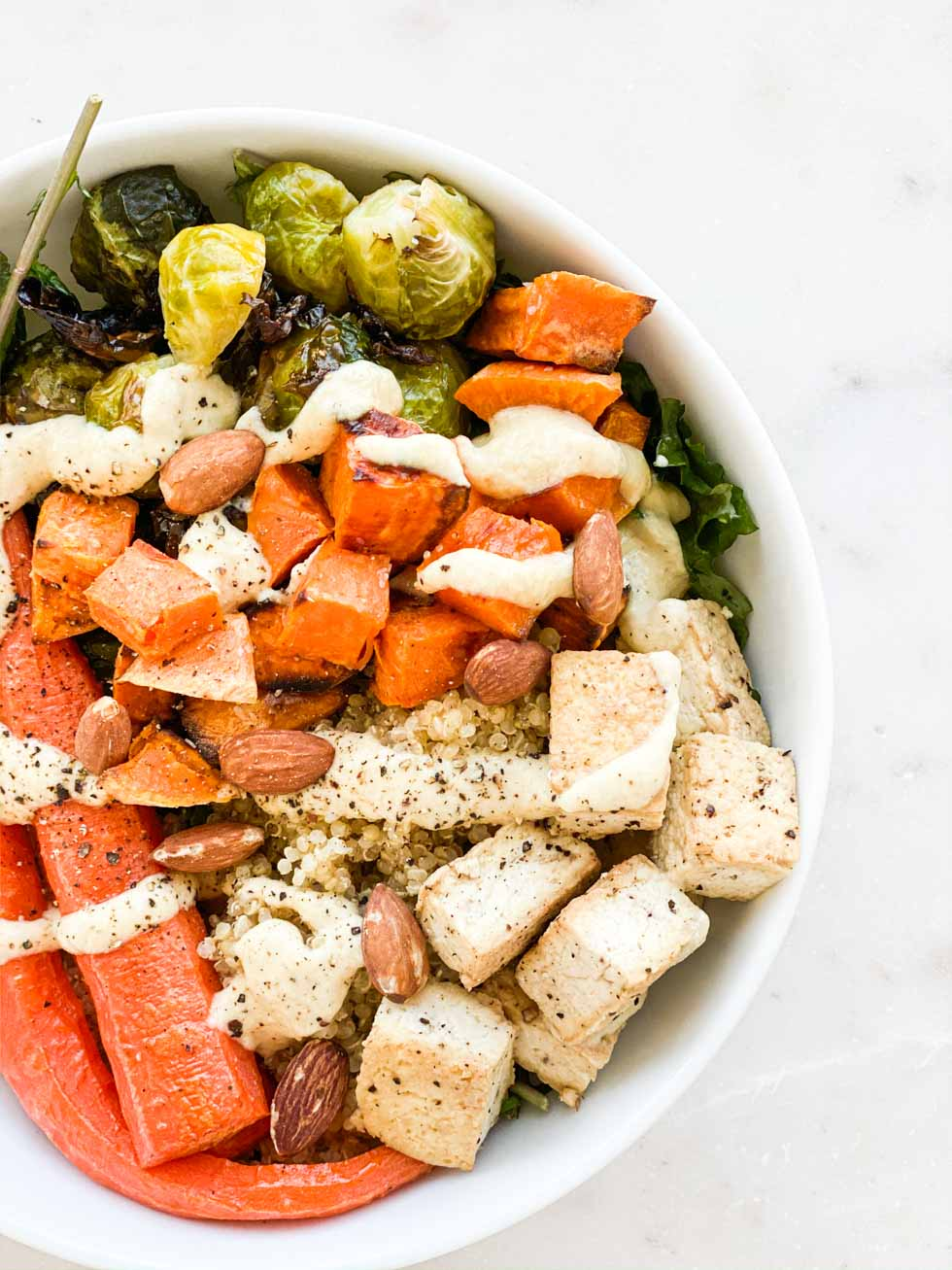 Gluten-Free Quinoa and Tofu Bowl