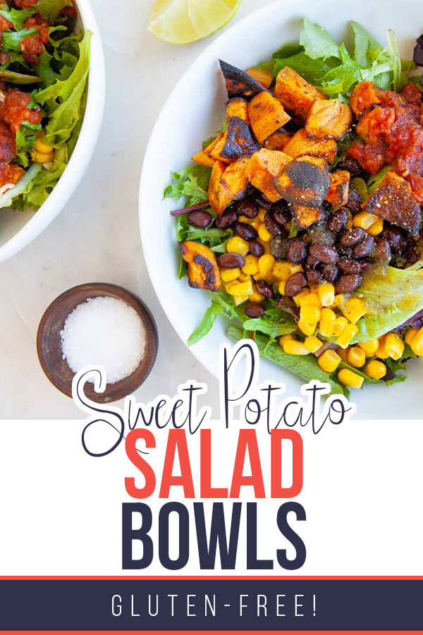 Sweet Potato Mexican Salad Bowls