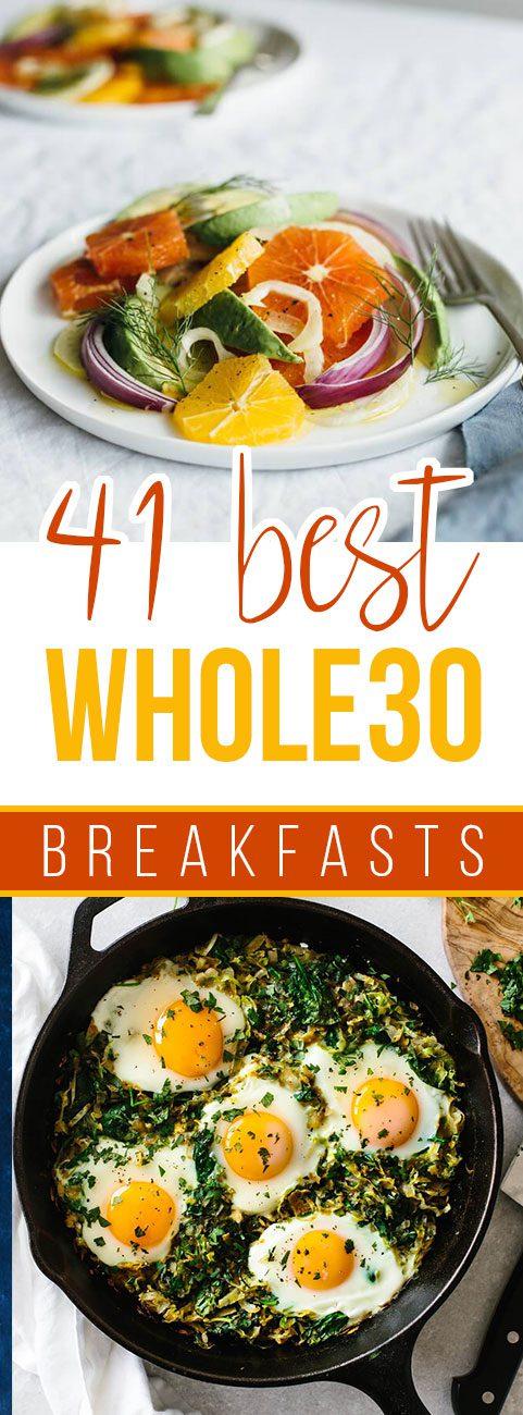 41 Best Whole30 Breakfast Recipes