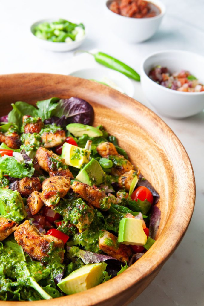 Epic Paleo Mexican Chicken Salad