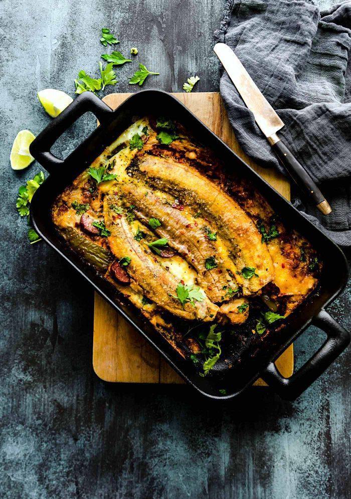 Puerto Rican Paleo Breakfast Lasagna