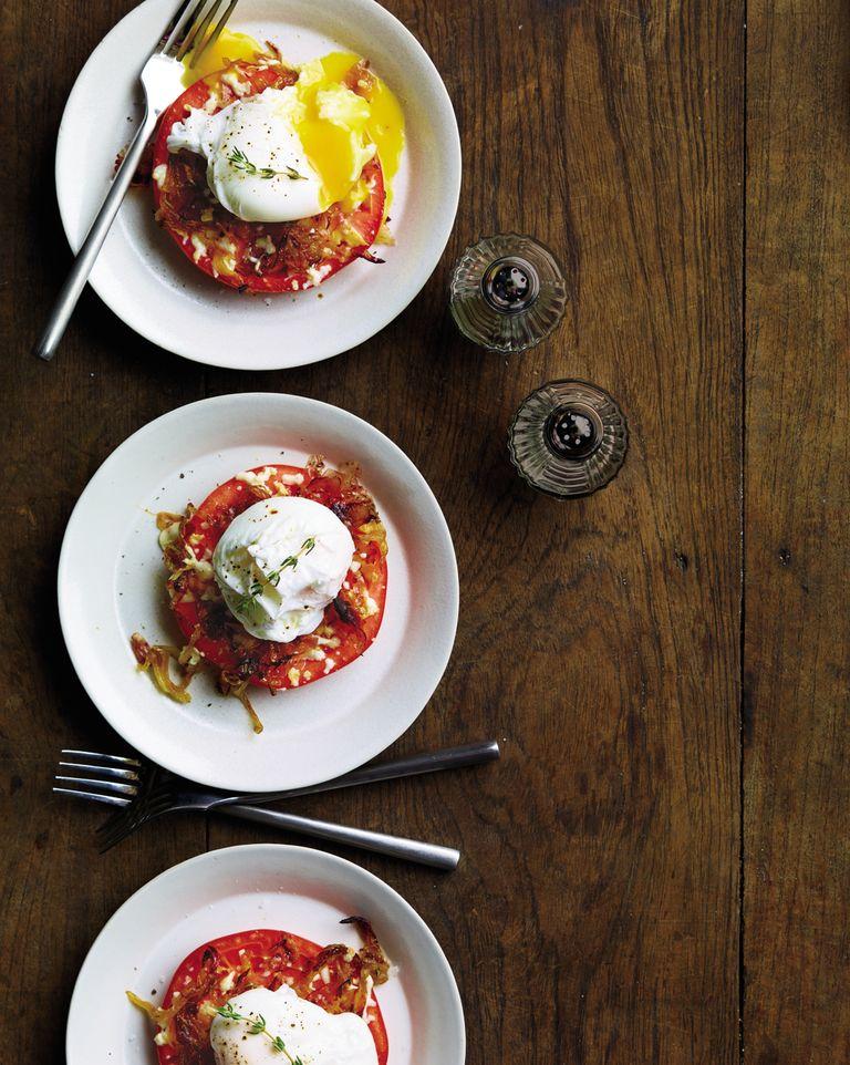 Tomato and Eggs Stacks