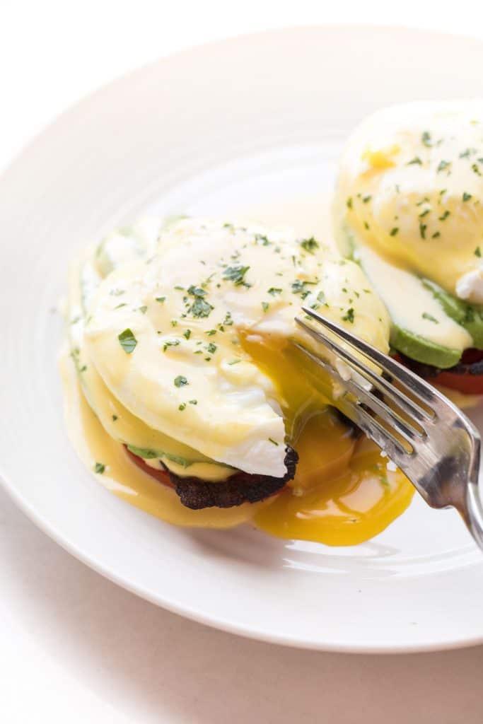 Whole + Keto California Eggs Benedict